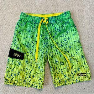 PELAGIC Mahi Mahi Board Shorts - Boys Size 6